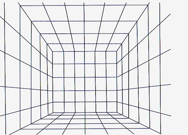One Point Perspective Grid One Point Perspective Point Perspective 1 Point Perspective