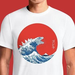 f2699208300 Godzilla Kaiju T-Shirts India Funny Quotes T Shirts Online Shopping Graphic  Funky Printed Cool Tees For Mens Slogan Womens Cheap Clothing Casual Wear  Round ...