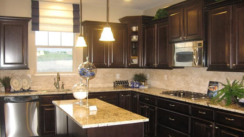 Model Home Decor: Day Break (With images) | Model home ... on Kitchen Model Ideas  id=15104