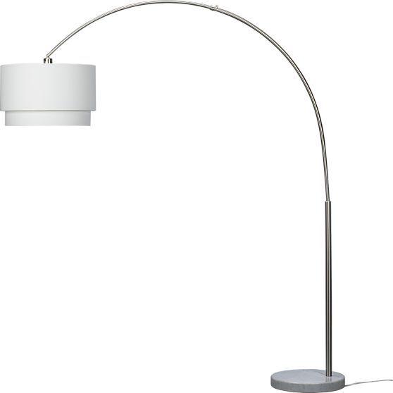 Meryl Arc Floor Lamp Reviews Crate And Barrel Arc