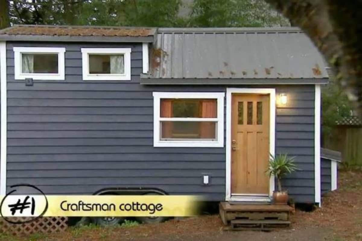 Tiny House For Sale Rvia Cert Hgtv Feat Tiny House For Sale In