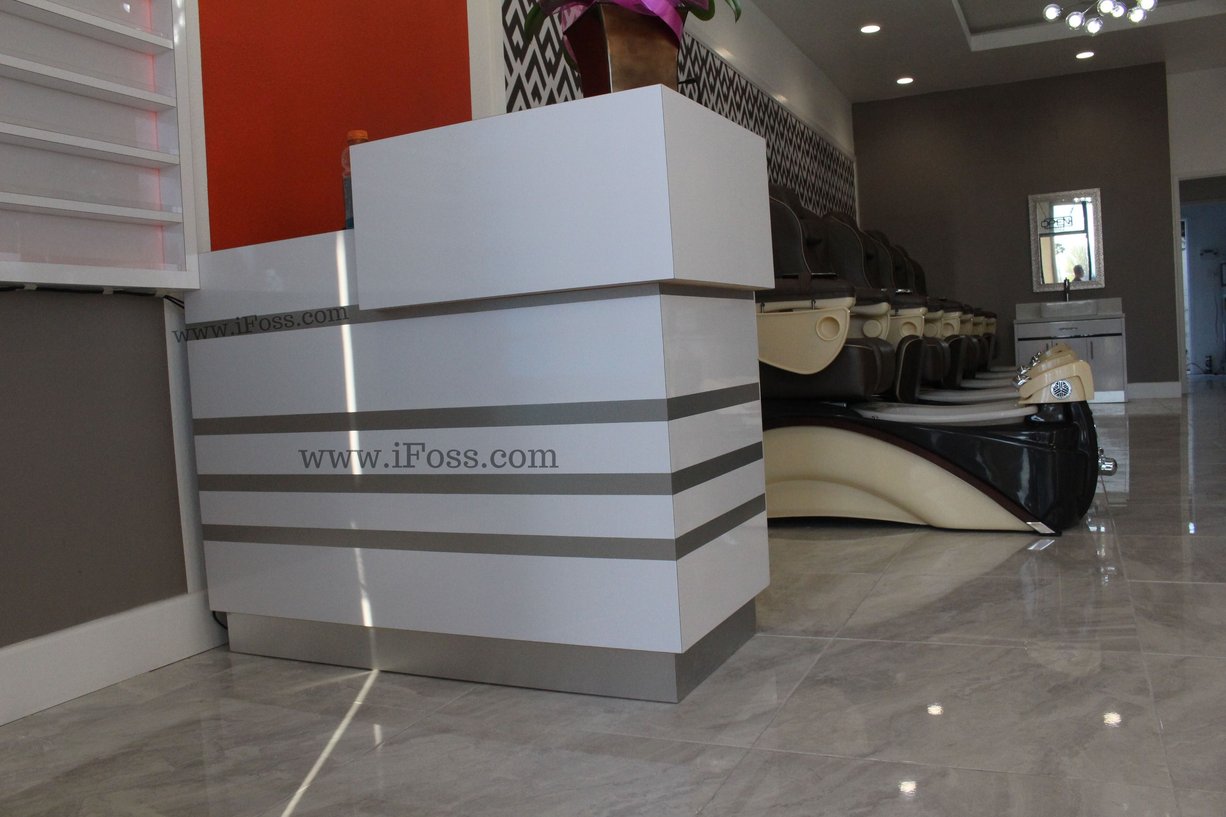Reception Desk for Nail Salon iFossInc ☎ : 7145567895 or inbox ...