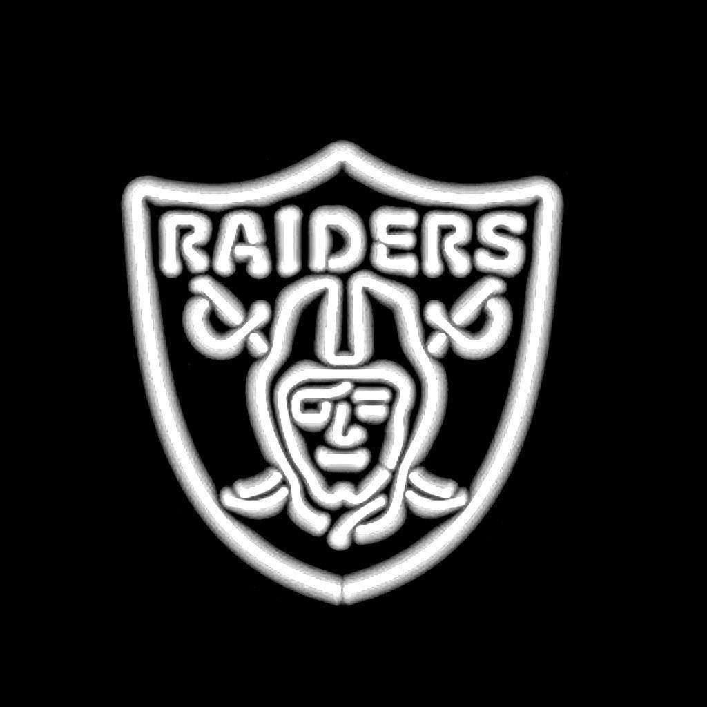 Oakland Raiders Logo Neon Sign | Oakland raiders logo