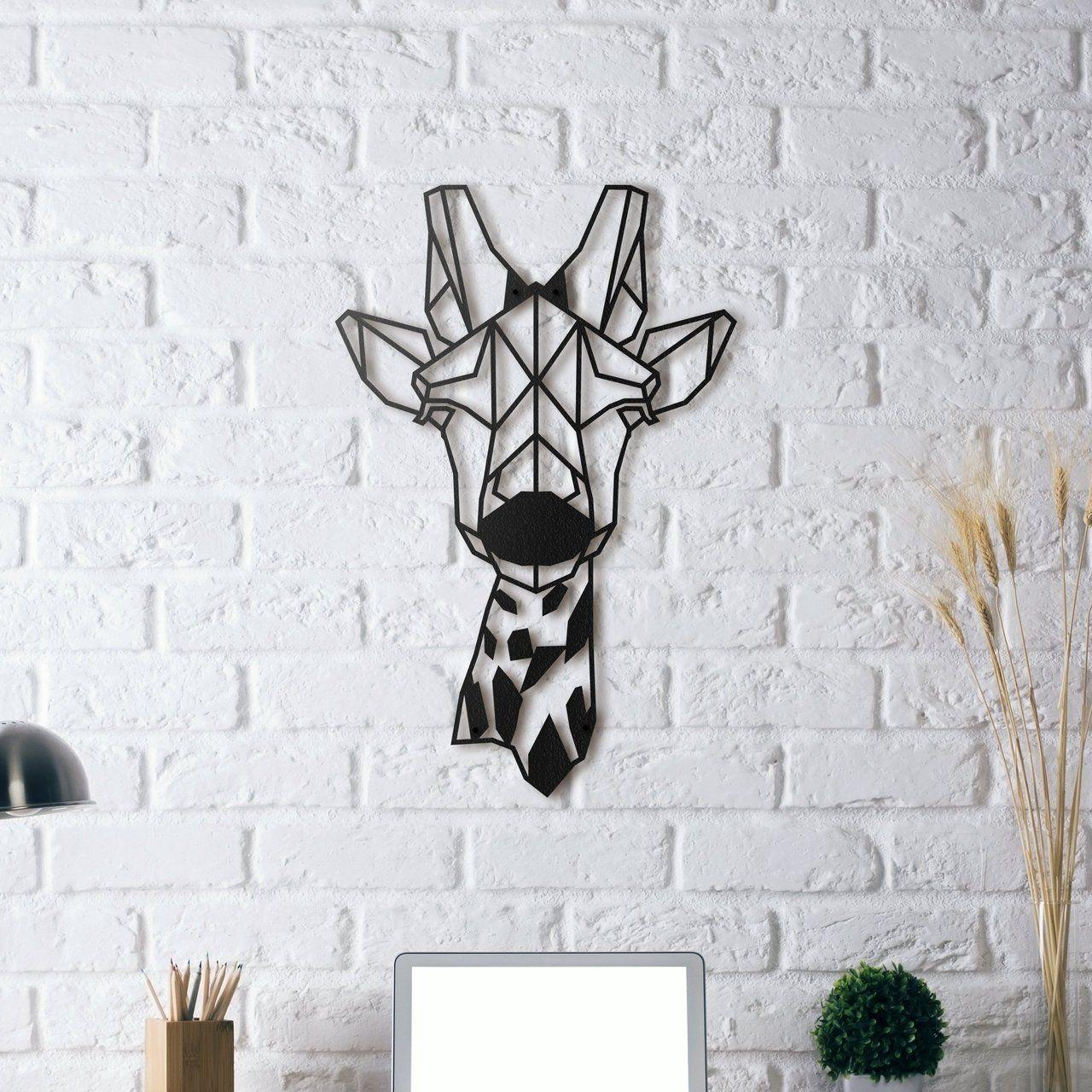 Giraffe Metal Wall Art Metal Art Welded Metal Wall Decor