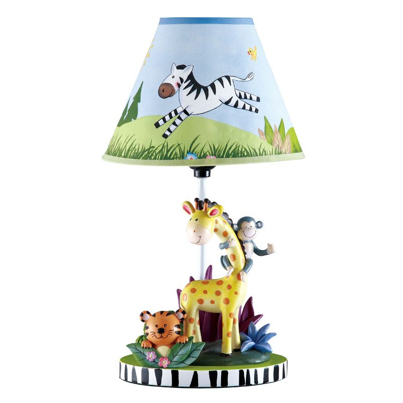 Nursery Lamp, Jungle Lamp Nursery