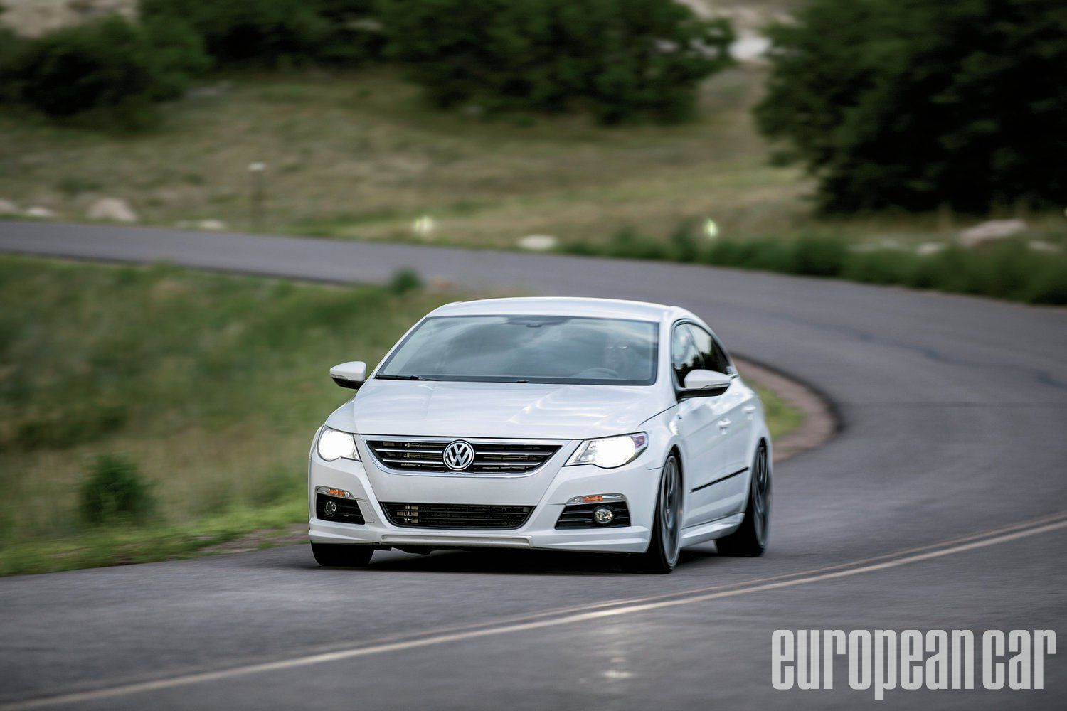 2012 Volkswagen CC European Car Magazine