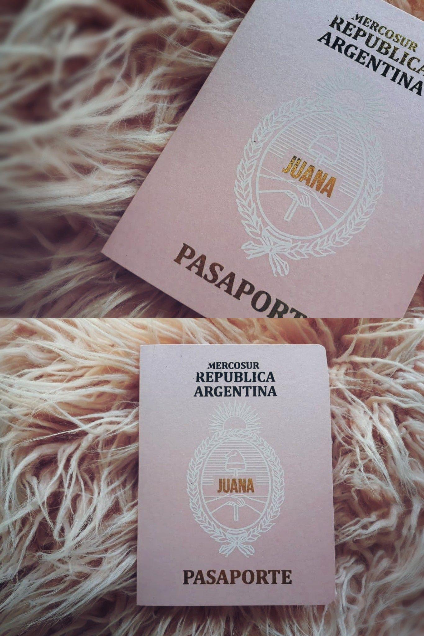Invitaciones Tipo Pasaporte Ambientacion Diseñografico