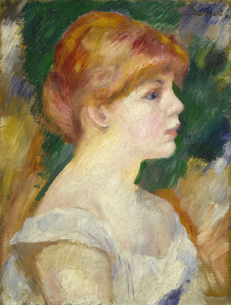 c. 1885. Oil on canvas. 41,3 x 31,8 cm. National Gallery of Art, Washington. 1963.10.60.