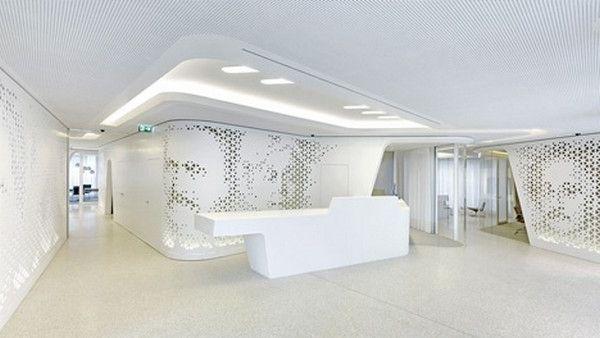 Modern Bank Interior Design Raiffeisen In Zurich Avec Images