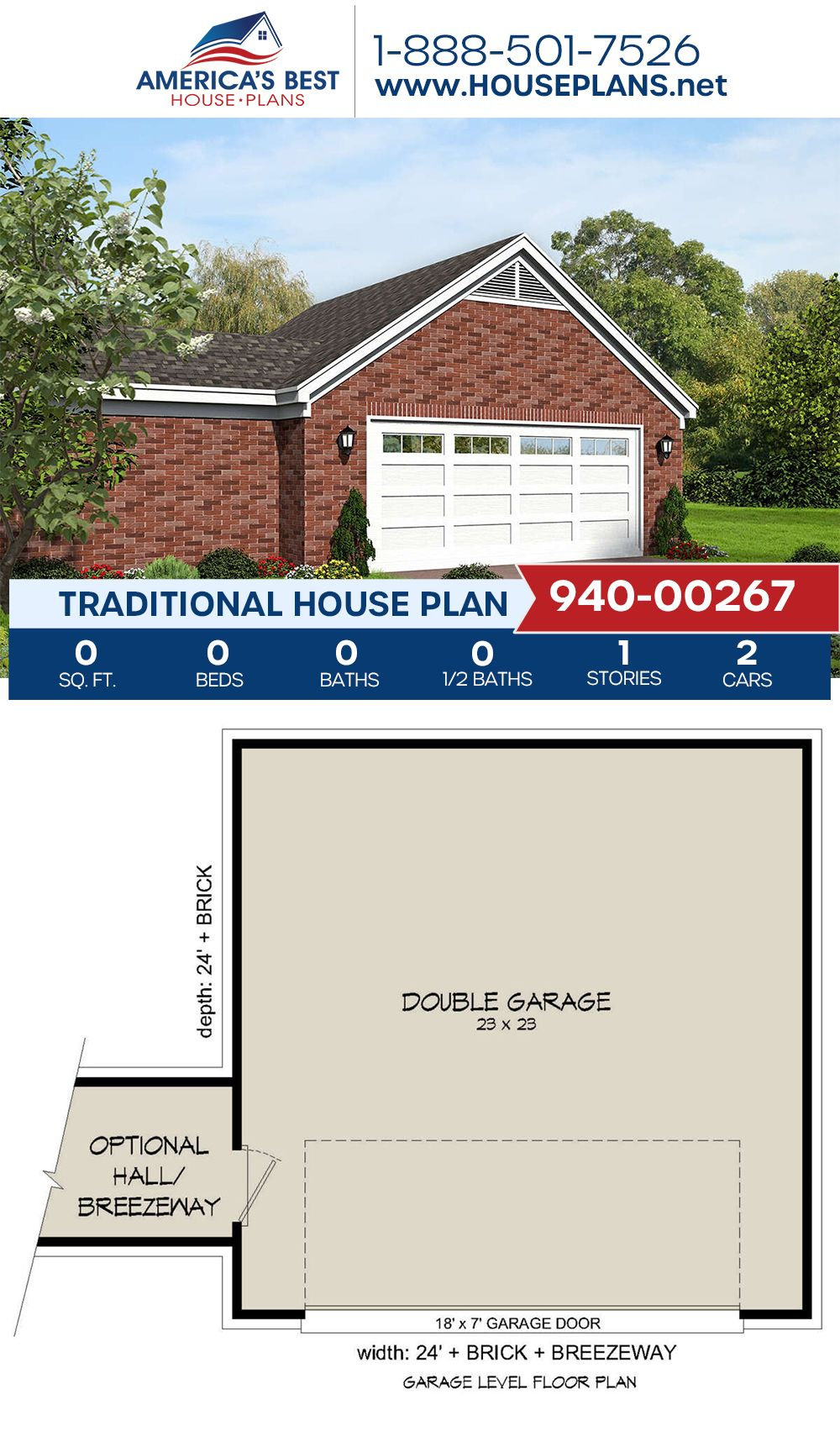 House Plan 940 00267 Traditional Plan 0 Square Feet House Plans Traditional House Plan Traditional House