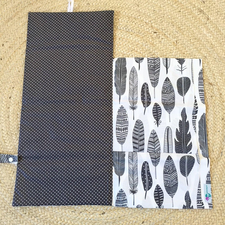 Nappy portefeuille / mes pochettes avec intégré étanche tapis | DIY ...