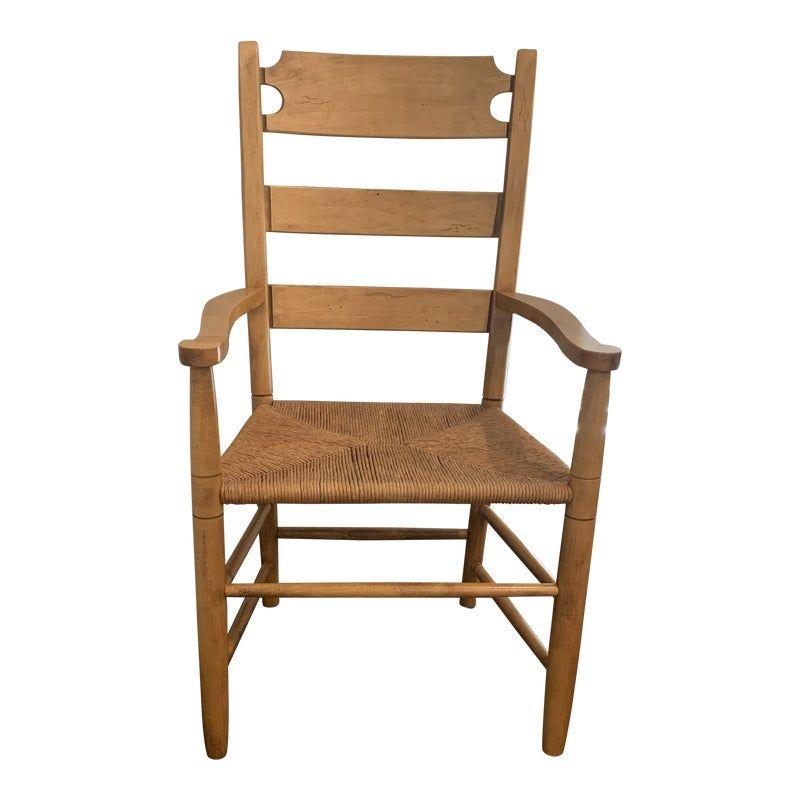Ethan Allen Farmhouse Pine Chair Pine Chairs Chair Corner Chair
