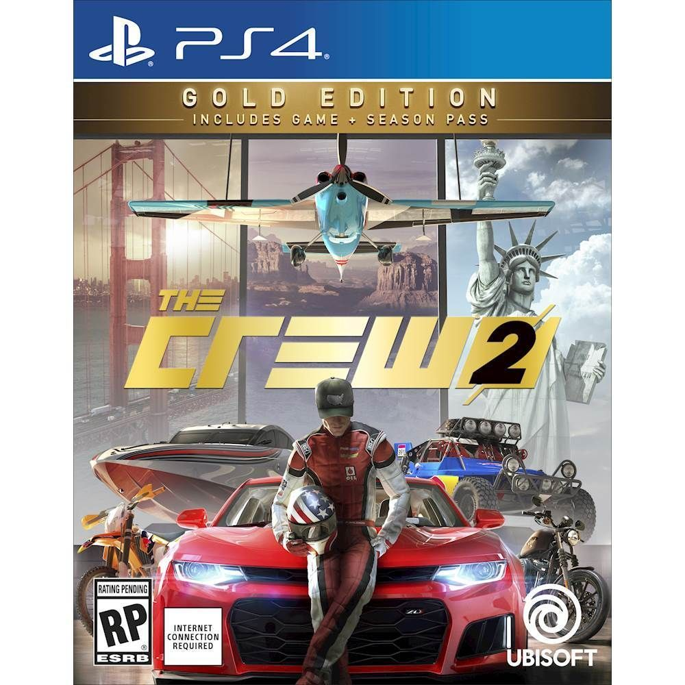 The Crew 2 Steelbook Gold Edition Playstation 4 Xbox One