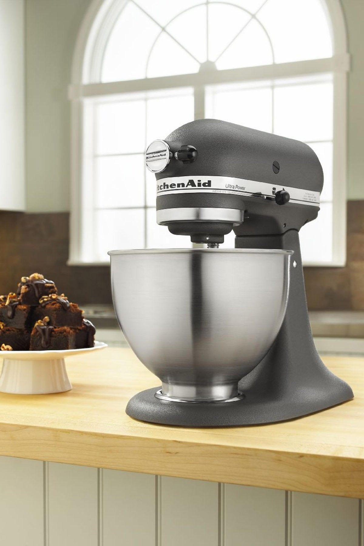 KitchenAid Ultra Power Tilt-Head Stand Mixer - Imperial Grey | In ...