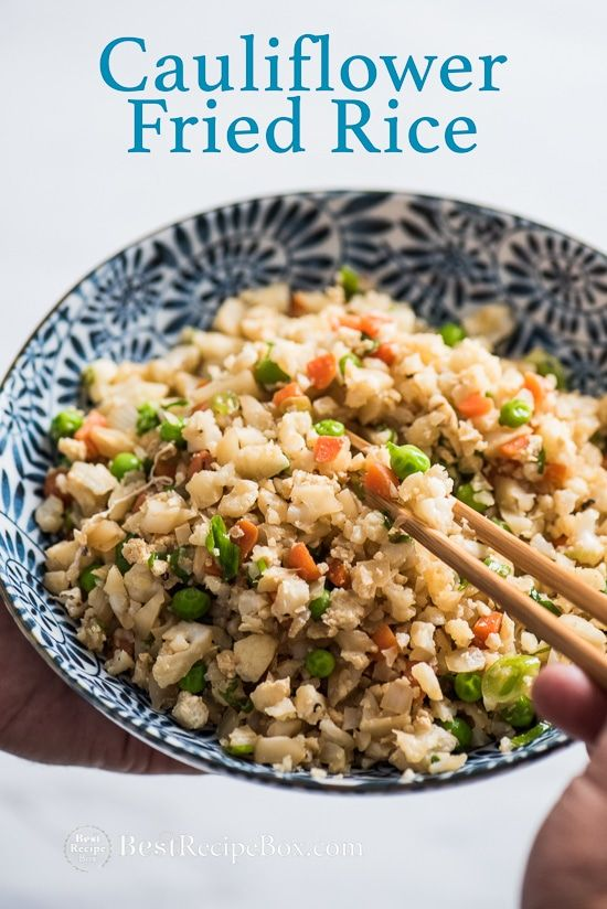 Cauliflower fried rice receita carb free or low carb pinterest how to make cauliflower fried rice easy cauliflower fried rice recipe and healthy fried rice ccuart Choice Image