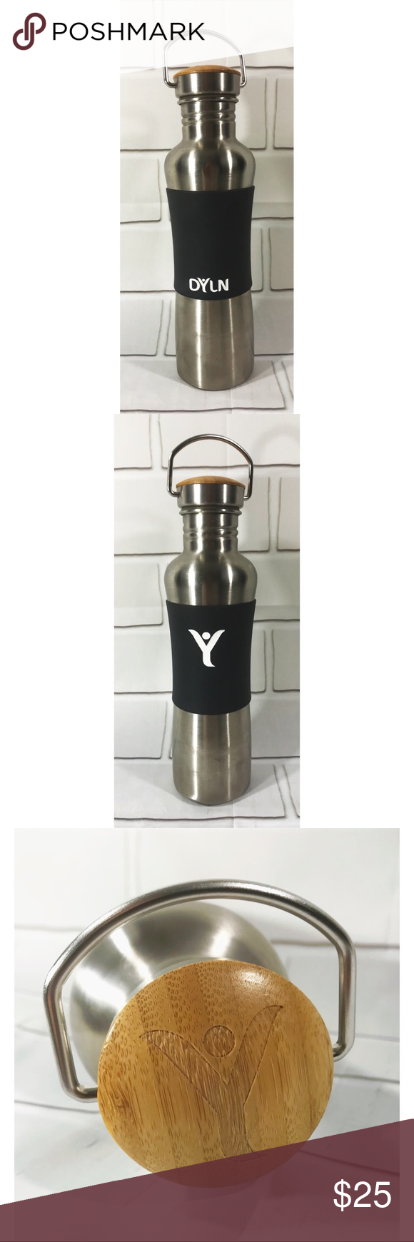 9282f4a323 DYLN Water Bottle Antioxidant VitaBead Diffuser | 316 stainless ...