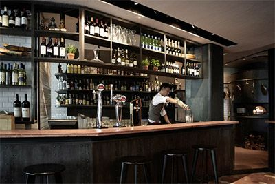 Commercial Bar Design Ideas commercial bar counters Rustic Pizzeria Bar In Shanghai Commercial Interior Design News Mindful Design Consulting