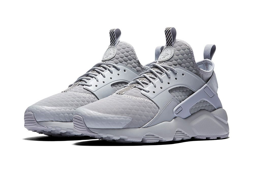 nike huarache men grey