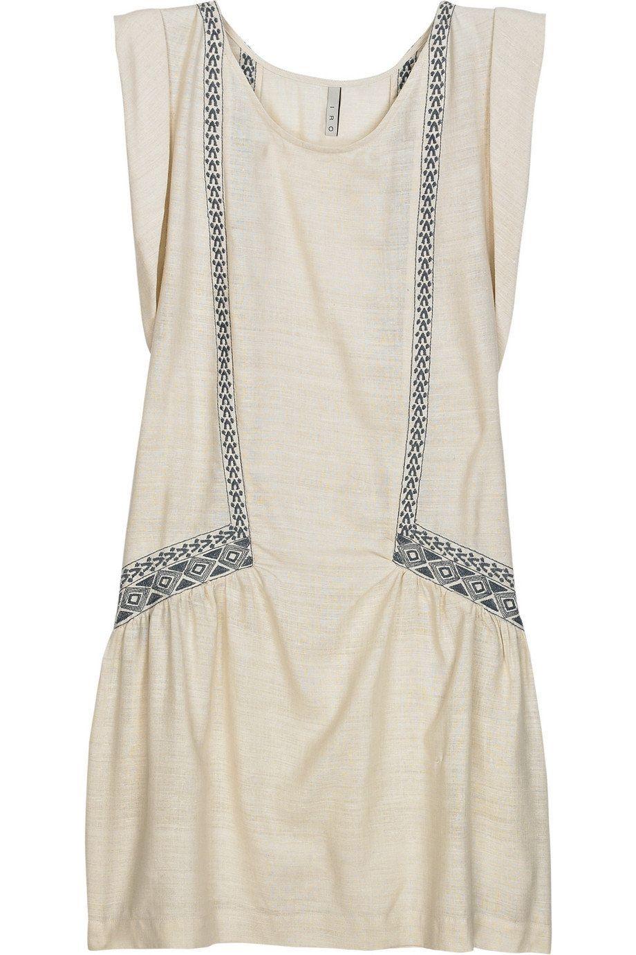 dress, silk - iro raveh