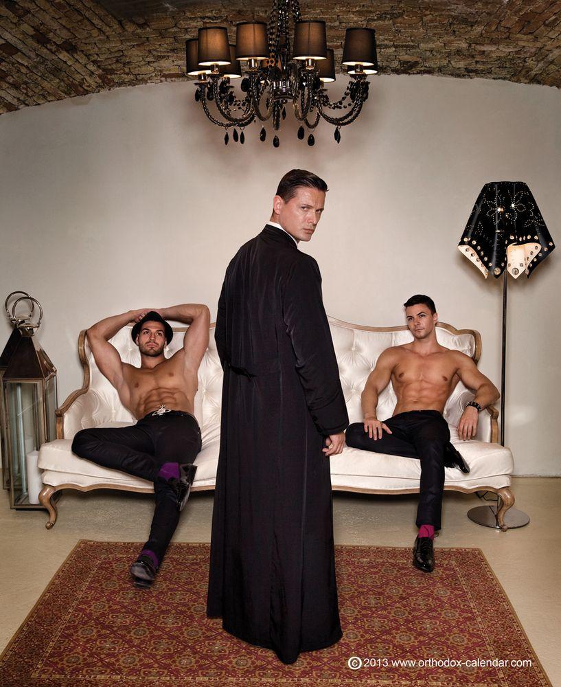 NUDE GAY PRIESTS IN ORTHODOX CALENDAR: photos galore ~ GAY