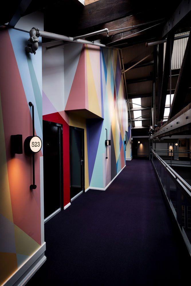 Hallway in the Ovolo Woolloomooloo Boutique Hotel, Woolloomooloo, Austrailia