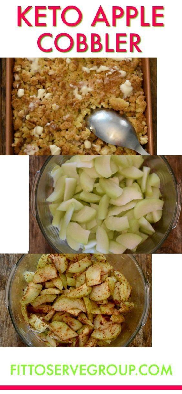 Keto Apple Cobbler – #Apple #Cobbler #Keto – #einfache