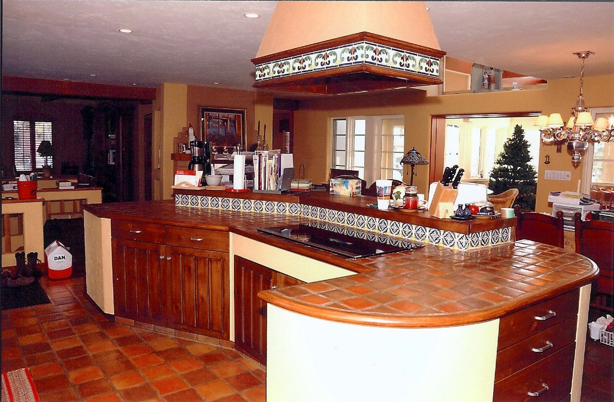 Terra Cotta Tile In Kitchen 17 Best Images About Cuisine Terracotta On Pinterest Dark Wood