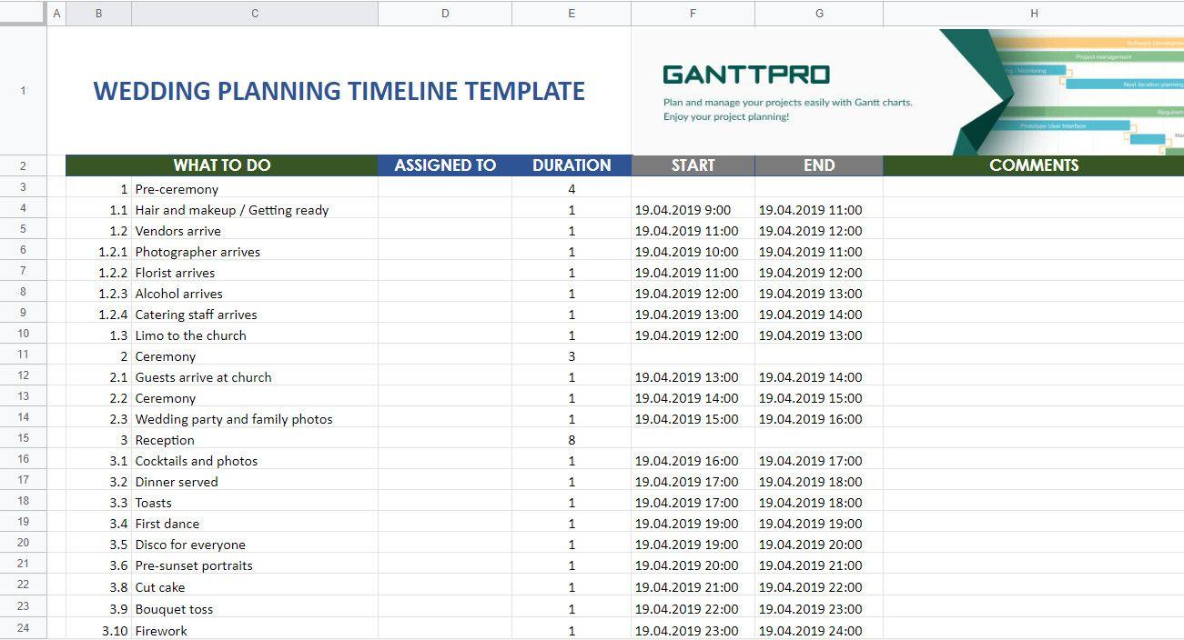 Wedding Planning Timeline Template Excel Beautiful Wedding Planning Wedding Planning Timeline Wedding Day Timeline Template Wedding Planning Timeline Template Wedding planning timeline template excel