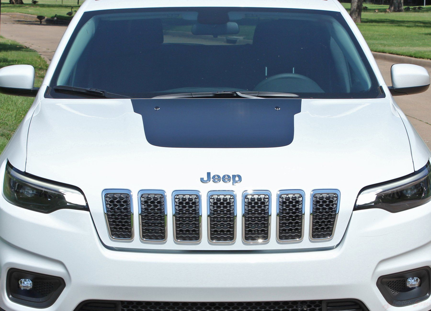 2018 2020 Jeep Cherokee Trailhawk Hood Decal T Hawk Factory Oem