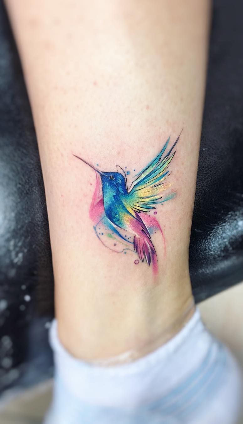 Stunning Watercolor Tattoos By Adrian Bascur Hummingbird Tattoo