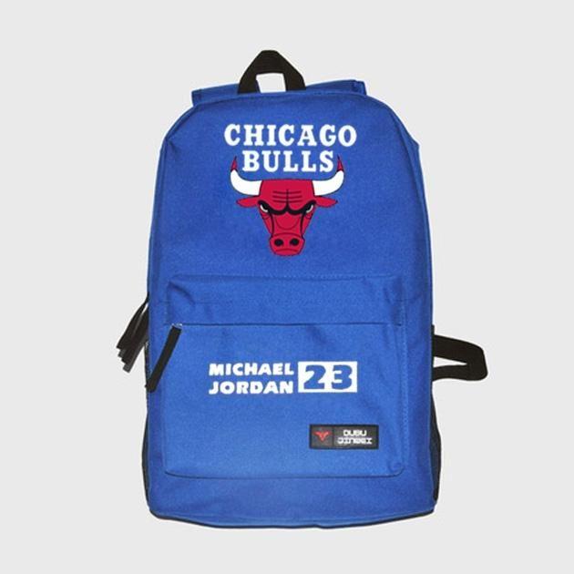 a60465d46e Chicago Bulls Students School Bags Laptop Bags