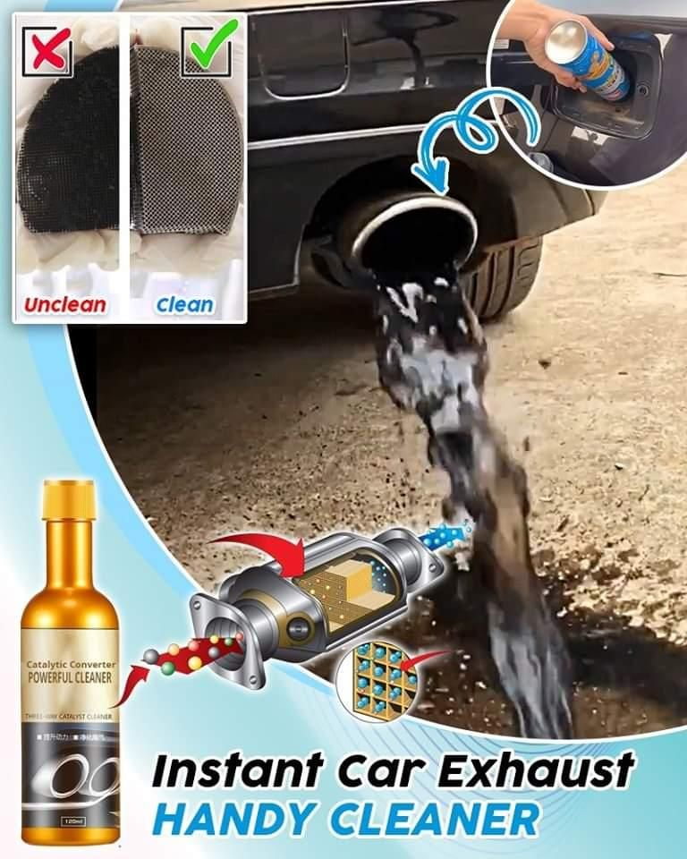 Immediately and effortlessly clean your car fuel e
