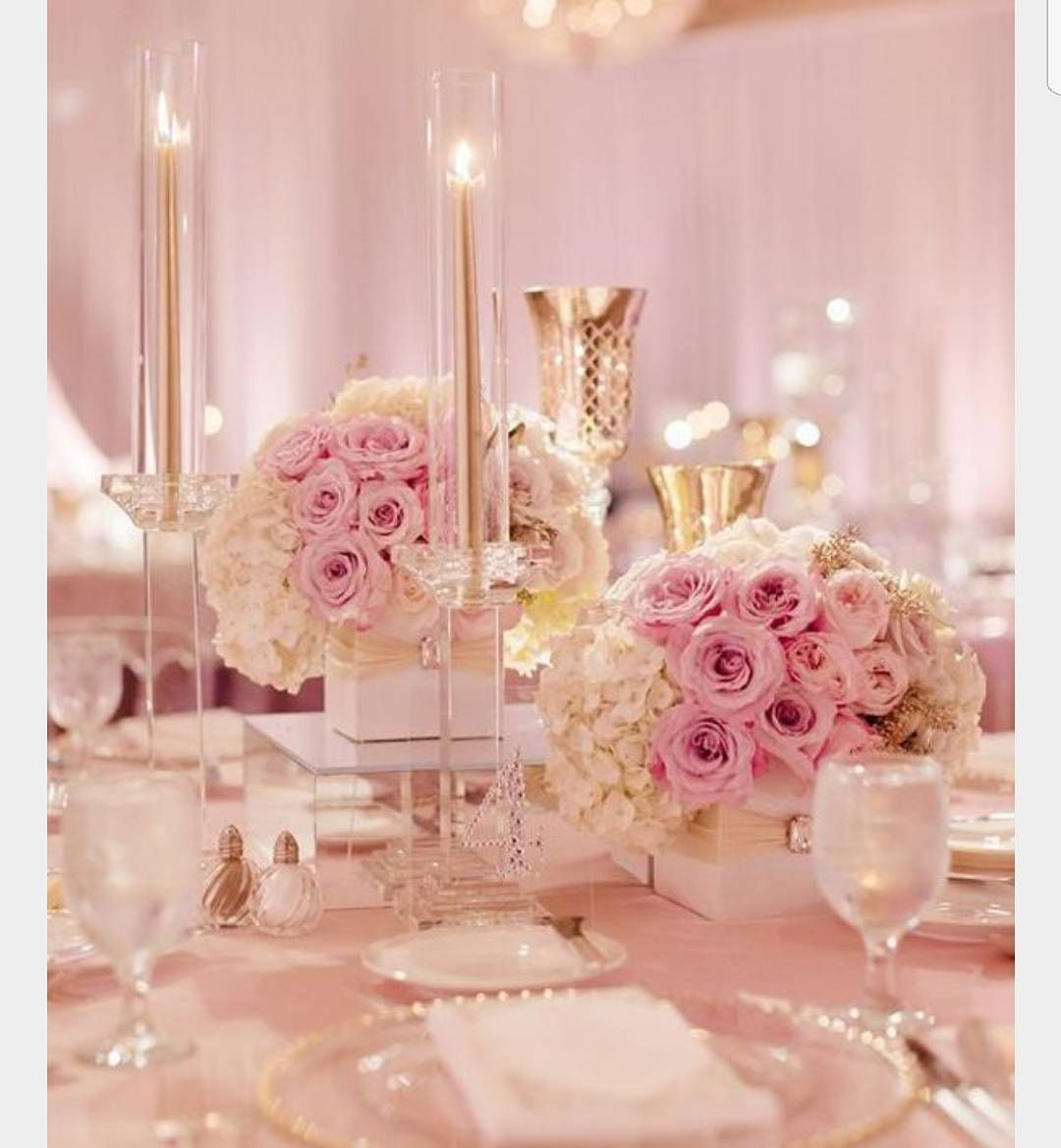 Classy and elegant #pinkwedding #weddinginspiration #wedding ...