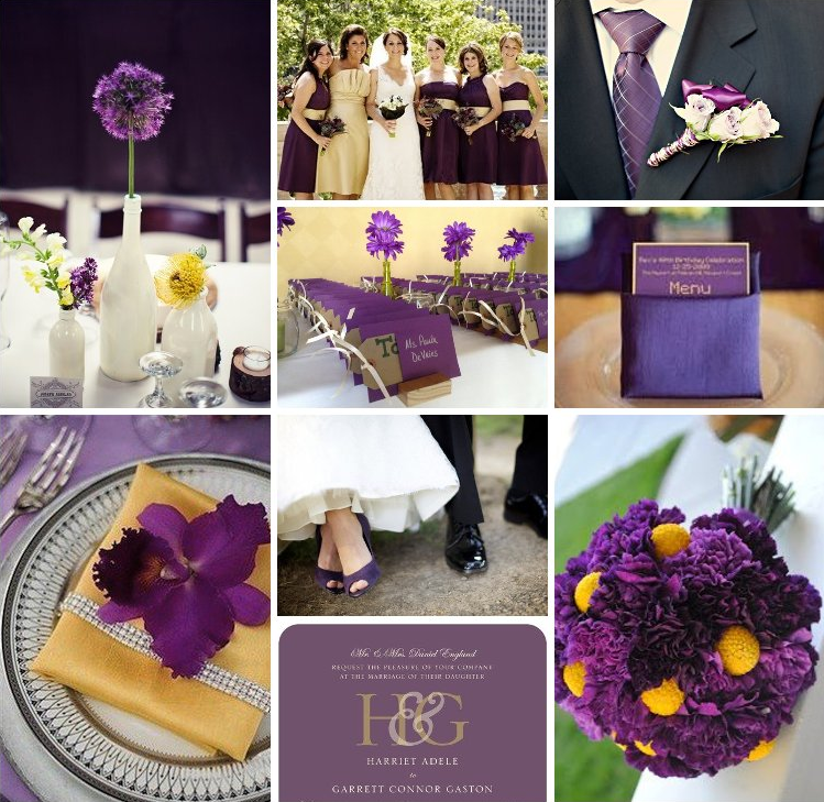 Purple and yellow wedding ideas weddinary inspiration for purple and yellow wedding ideas weddinary junglespirit Image collections