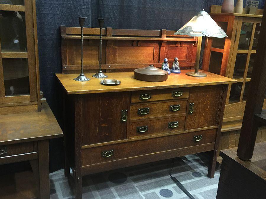Vintage Furniture · California Historical Designu0027s Booth During Pasadena  Heritageu0027s Craftsman Weekend: Gustav Stickley, Charles Stickley,