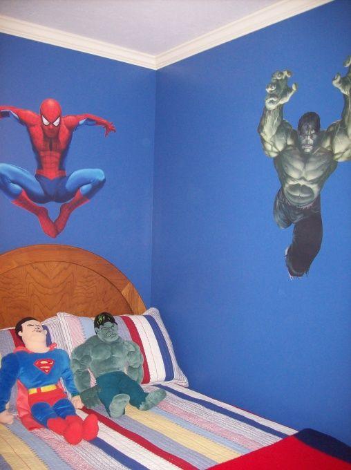 Image detail for -Marvel Superhero Room - Boys\u0027 Room Designs