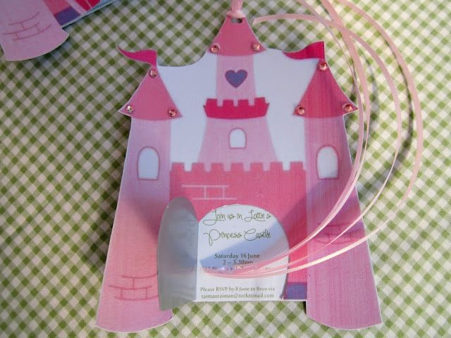 * Maxabella loves...: Rolling out the princess party invitations