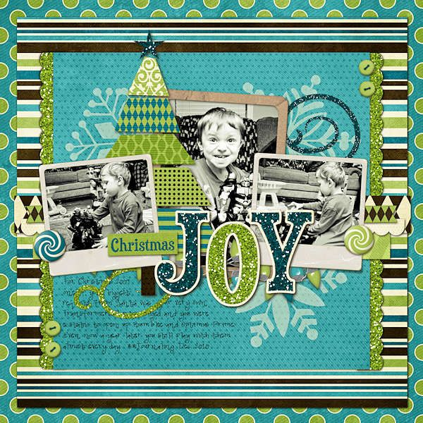 Layout: Christmas Joy