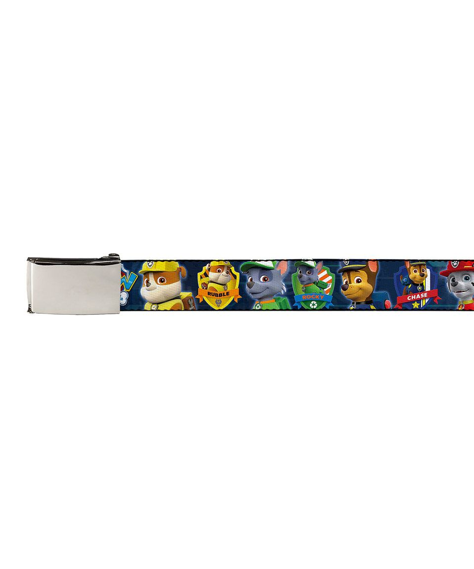 Look At This Zulilyfind Blue Paw Patrol Badges Chrome Buckle Belt By Paw Patrol Zulilyfinds Paw Patrol Badge Belt Buckles Paw Patrol
