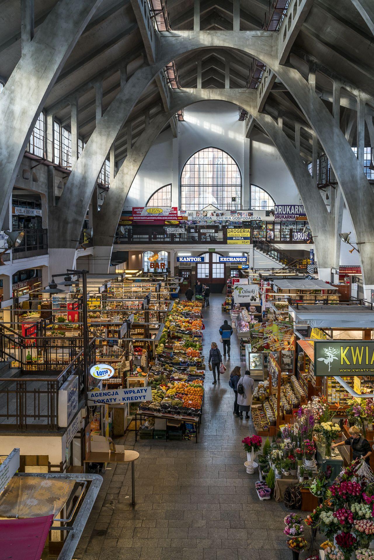 Markthalle Hala Targowa Wroclaw Poland Breslau Polen Architektur