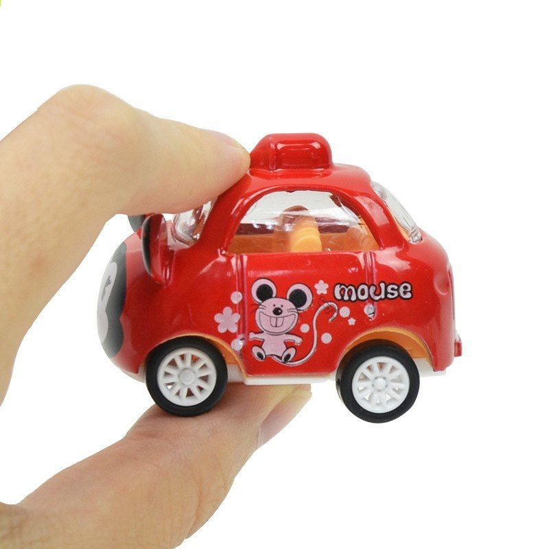1 64 Mini Slitina Kawaii Model Auta Kresleny Roztomily Zvireci Auto