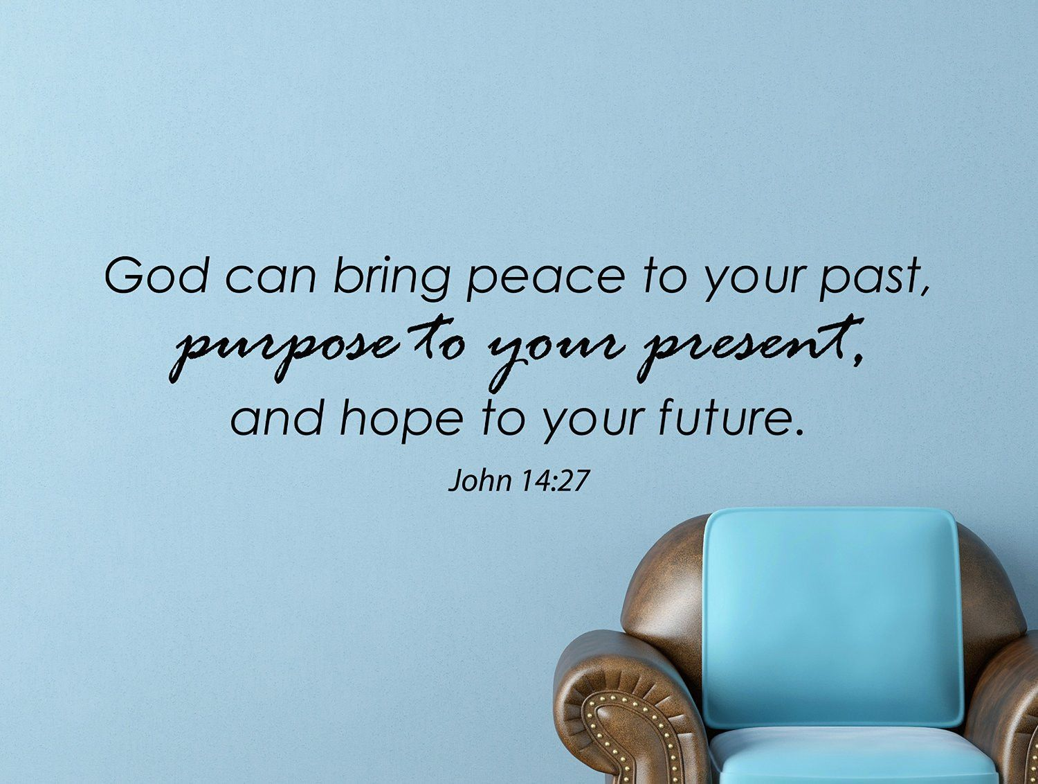 Bible Quotes About Peace John 1427 Bible Quote Inspirational Motivational Wall Decal Home