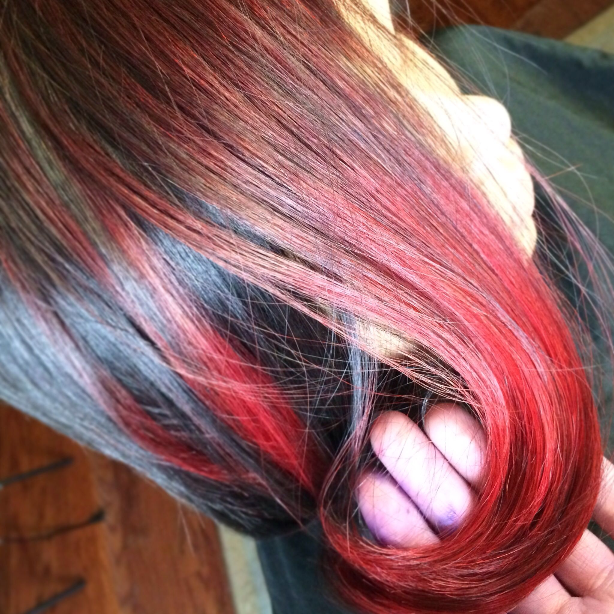 Cherry Bomb Ombre Hairdos Pinterest Cherry Bombs And Ombre
