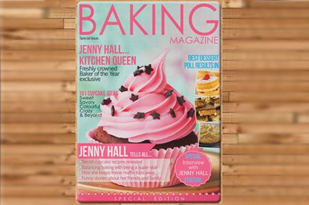 Personalised Baking Magazine Cover Chopping Give the cake-making king or queen in your life the perfect kitchen accessory with this Personalised Baking Magazine Cover Chopping Board. Designed to replicate the front cover of a baking magazine th http://www.MightGet.com/february-2017-3/personalised-baking-magazine-cover-chopping.asp