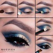 Tutorial de maquillaje Maquillaje Anleitung Esta imagen tiene 291 repines. Autor: …