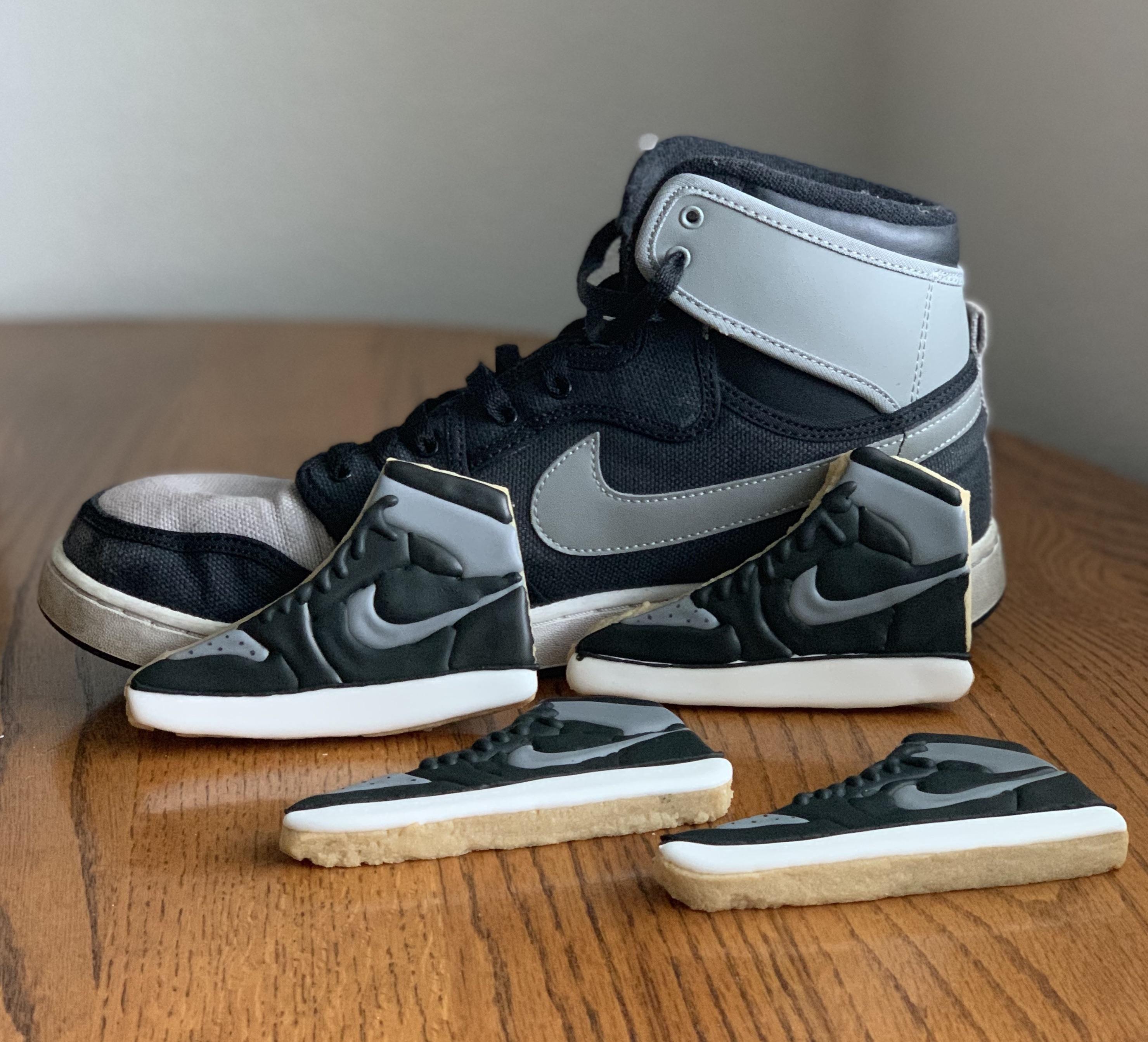 I Made Nike Air Jordan Cookies Nike, Sneakers, Air jordans