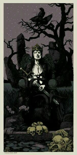 Dama de negro