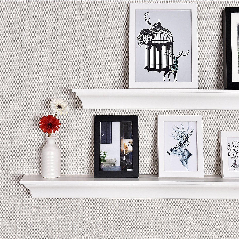 36 Inch Classic Crown Molding Wall Shelf White White Color For Us 42 99 In Corona Crown Molding Shelf Wall Shelves Wooden Wall Shelves Shelves
