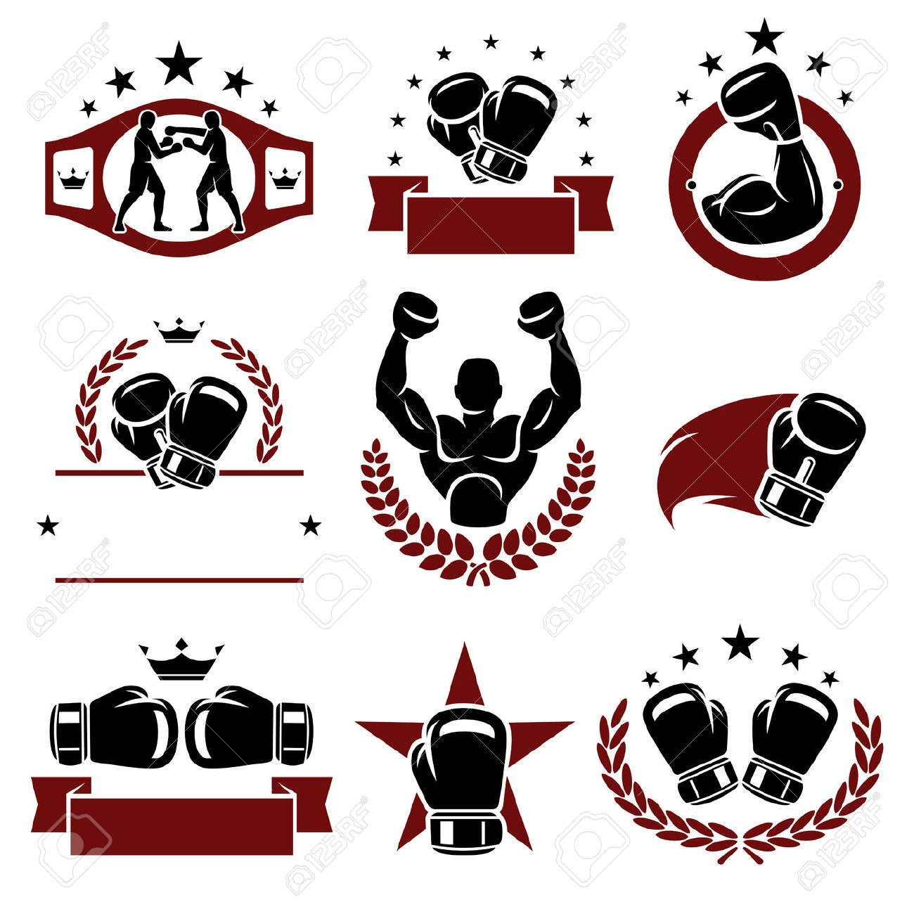 boxing gloves silhouette vector google search if no when i get