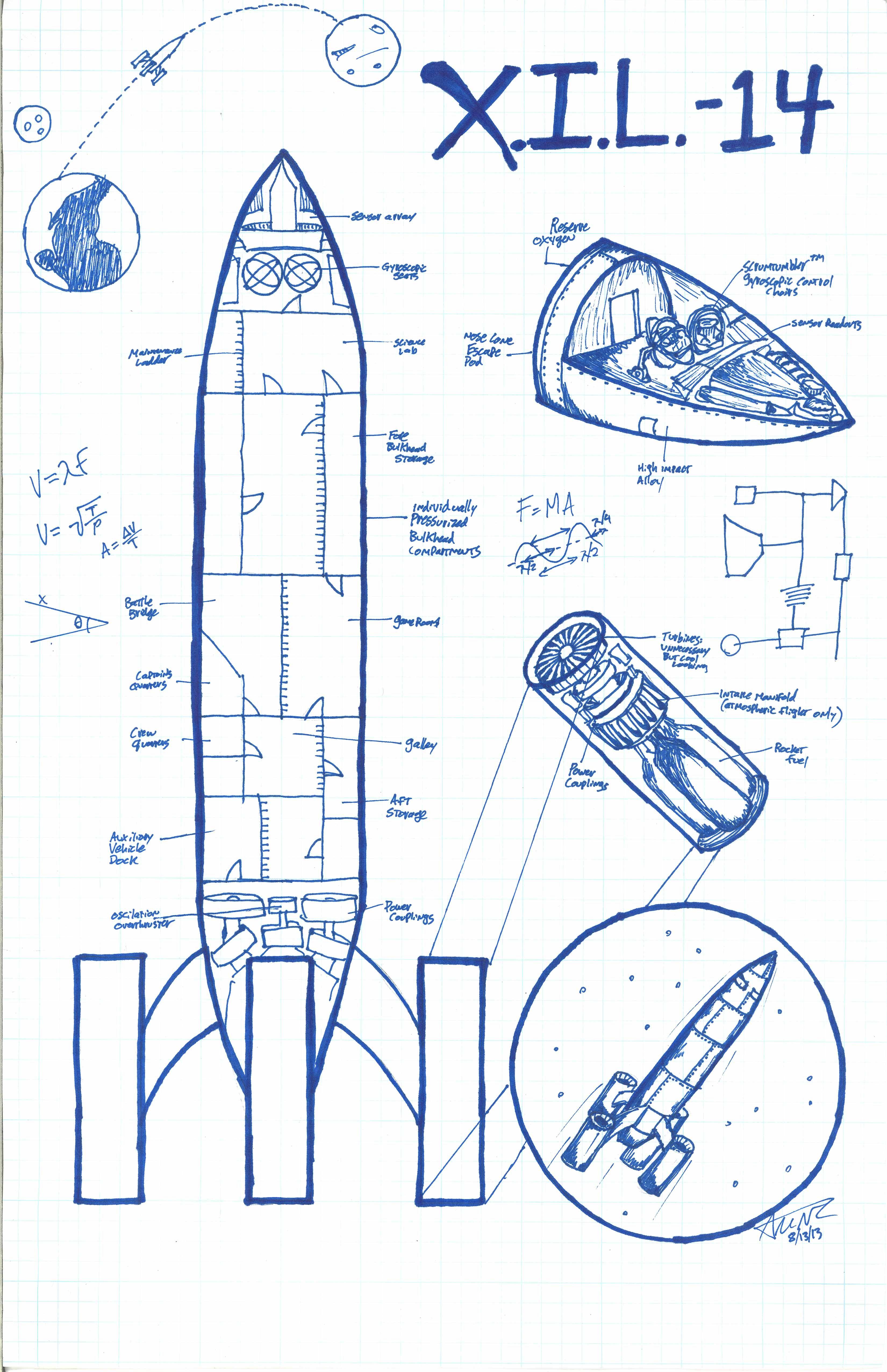 Tesla death ray blueprints